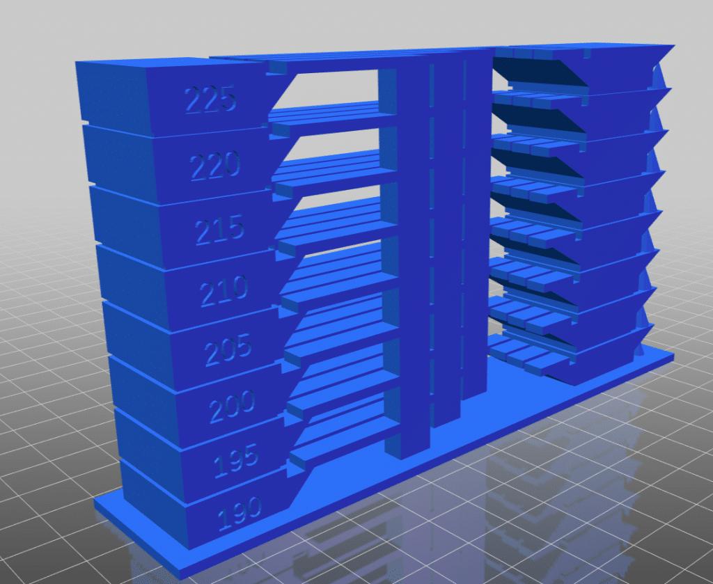 Każda Drukarka 3D potrzebuje odpowiednich ustawień, aby materiał dobrze płynął., Jednym z nich jest temperatura